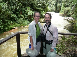 Liza and Robert in southern Ecuador