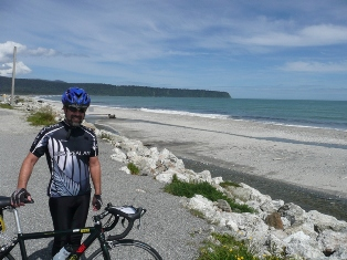 Robert at the Tasman Sea