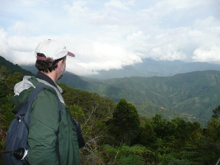Robert in the Sierra Nevada de Santa Marta
