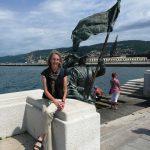 Liza in Trieste