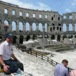 Ampitheater in Pula
