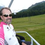 Robert on the ski lift