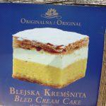The famous cream cake