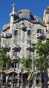 Casa Batll? - don't balconies look like skulls?