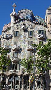 Casa Batll? - don't balconies look like skulls?