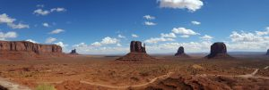 Monument Valley Navajo Tribal Park, view from the Visitors' Center