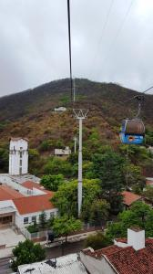 Cable car to Cerro San Bernardo, Salta