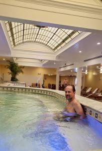 Robert at Quapaw Bathhouse, Hot Springs NP