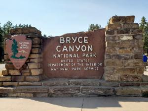 Bryce Canyon NP sign