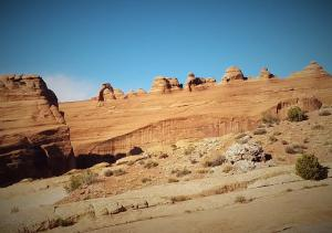 Delicate Arch (from a distance)