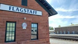 Old railroad depot