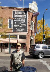 Flagstaff historic downtown