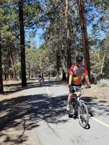Robert on the Alpine Pedal Path