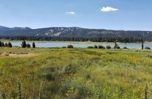 Big Bear Lake from the bike