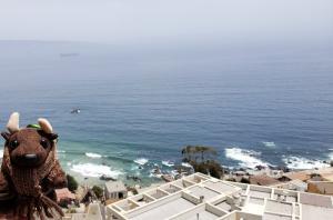 Reñaca, Viña del Mar, view from my balcony