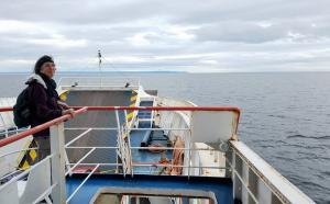 On the ferry to Porvenir, Tierra del Fuego