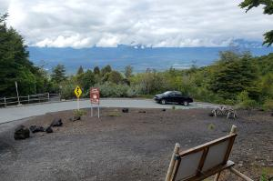 Midway up Osorno volcano