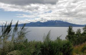 Cloudy view of Osorno