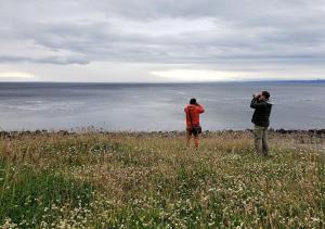 Rodrigo and Robert, Tierra del Fuego