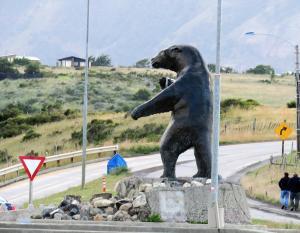 Milodon (giant sloth), emblem of Puerto Natales