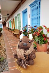 Me! At the Hotel La Extremadura, Medellin