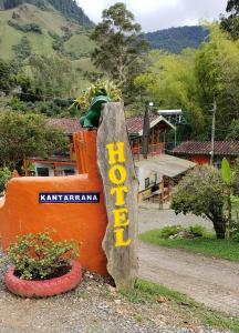 Hotel Kantarrana, Jardín