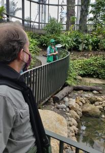 At the Botanic Garden, Bogota