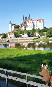 Meissen, Germany, admiring the Albrechtsburg