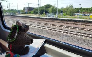 Riding the rails...heading for Berlin!