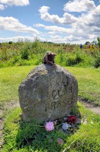 Fraser clan stone, Culloden Battlefield