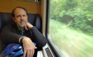 On the train from Berlin to Dresden