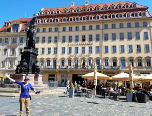Our hotel, Steigenberger Hotel de Saxe