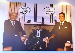 Gorbachev and Reagan, 1986