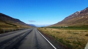 Typical Icelandic road