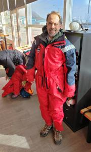 Ready for whale watching out of Dalvik!