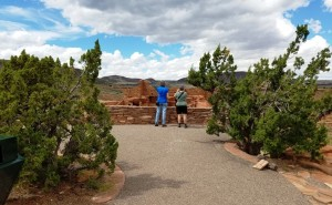 Liza & Joanne, Wupatki Natl Monument, AZ