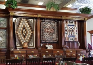 Navajo rugs at Cameron Trading Post