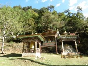 Prayer wheel etc., Jigme Dorji NP