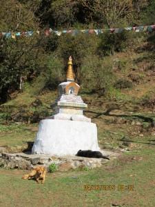 Stupa (Chorten), Jigme Dorji NP