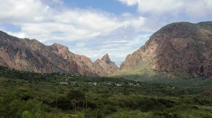 View from Chisos Mtn Lodge