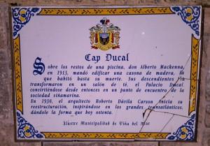 Cap Ducal history