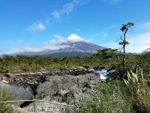 Osorno volcano from Vincente Perez Rosales NP