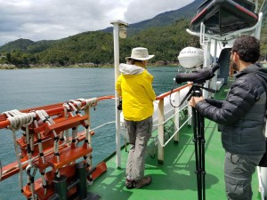 Ferry ride from Caleta La Arena