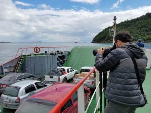 Ferry ride near Caleta La Arena