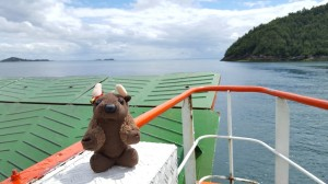 I love ferry rides!