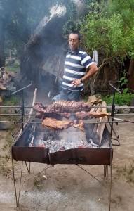 Mapuche village