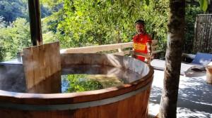 Our own soaking tub!