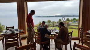 Last breakfast at the Cumbres, Puerto Varas