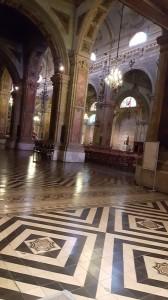 Peak inside the Metropolitan Cathedral