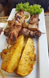 Dining in Barrio Lastarria
